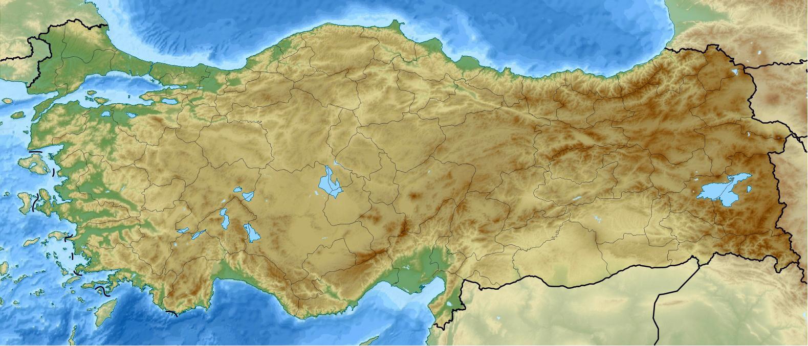törökország domborzati térkép Törökország domborzati térkép   Térkép Törökország terep (Nyugat  törökország domborzati térkép
